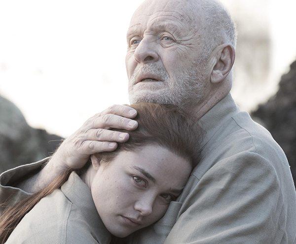 Primer vistazo a Anthony Hopkins y Florence Pugh en King Lear