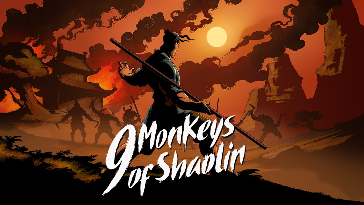 Sobaka Studio y Buka Entertainment anuncian la pelea de la vieja escuela 9 Monkeys of Shaolin