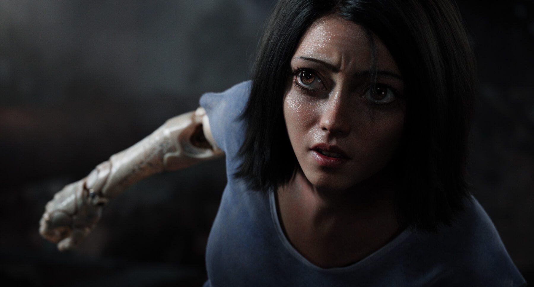 Alita: Battle Angel regresó a 2019