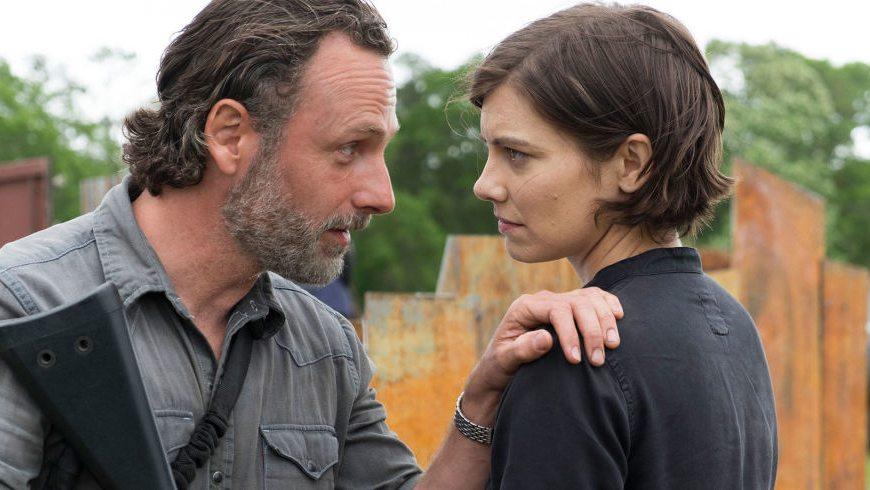 Andrew Lincoln de The Walking Dead 'se sorprendería' si Maggie de Lauren Cohan no regresa para la temporada 9