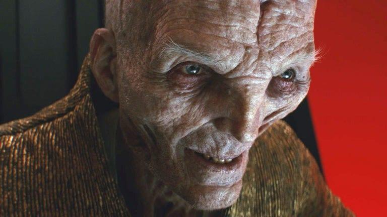 Andy Serkis alimenta deliberadamente las especulaciones sobre Snoke en Star Wars: Episodio IX