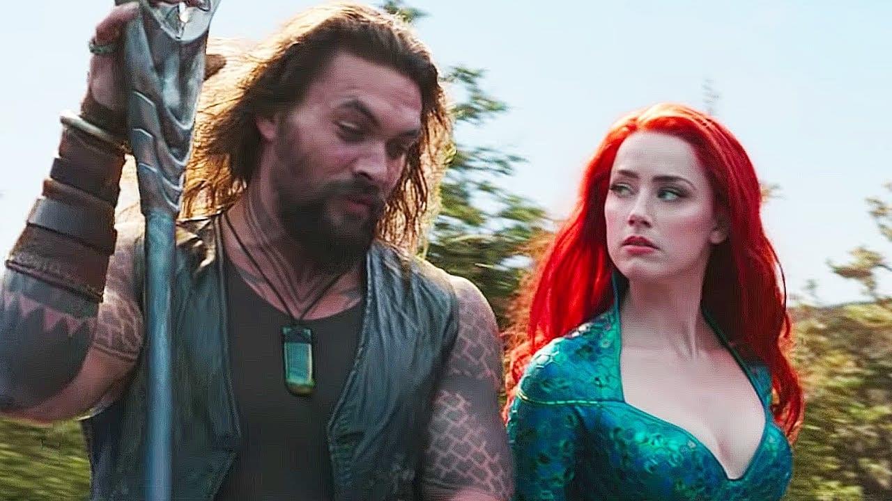 Aquaman 2 encuentra a un escritor, Jason Momoa y Amber Heard, según los informes, confirmados para el spin-off de terror The Trench