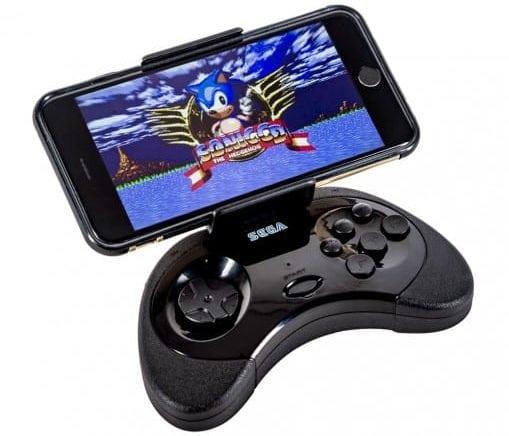 Aquí está el controlador de Android perfecto para los fanáticos de SEGA