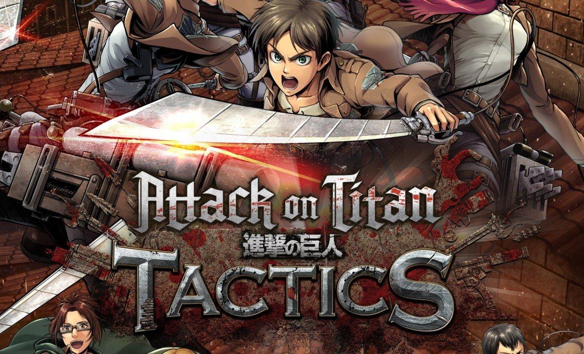 Attack on Titan Tactics llega a dispositivos móviles en Japón