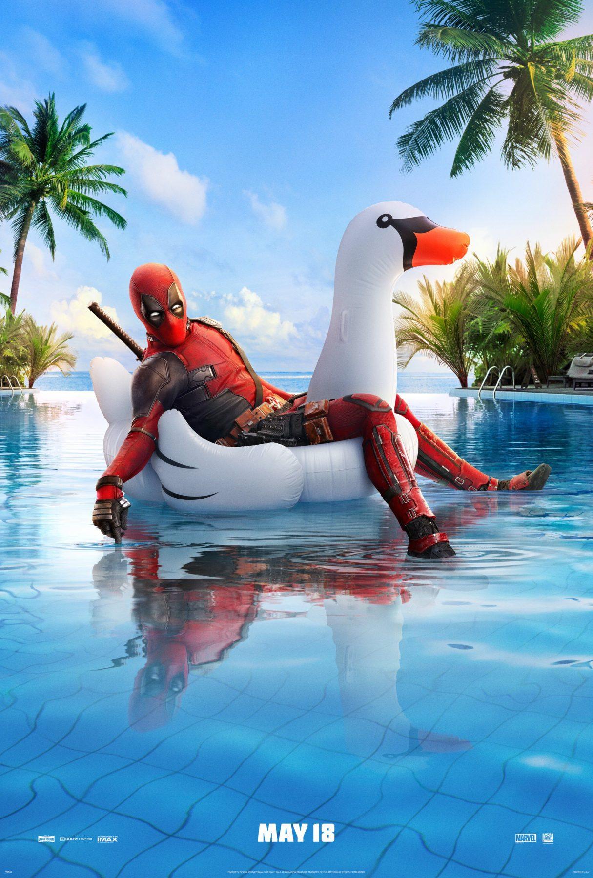Deadpool 2 sigue el fin de semana de apertura nacional de $ 150 millones