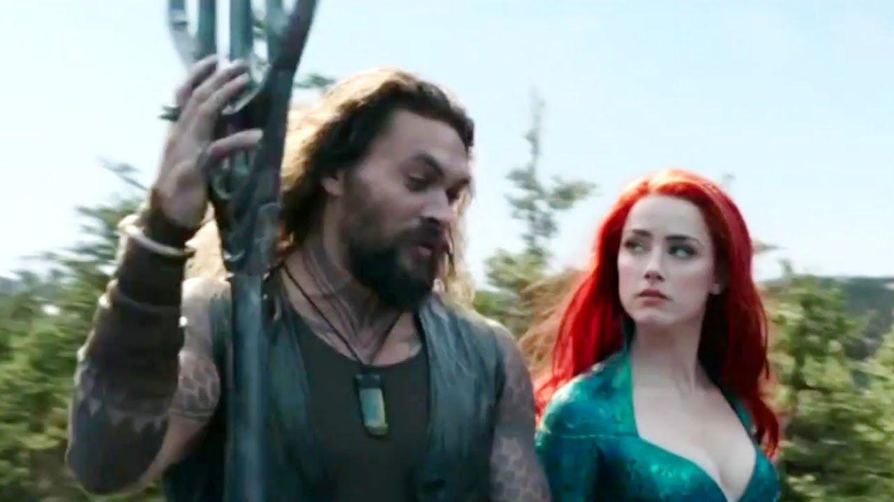 El seguimiento anticipado de Aquaman sugiere un fin de semana de apertura de $ 40 - $ 60 millones, se publica un nuevo spot