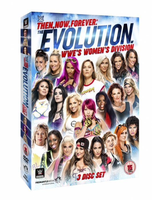 Entonces, ahora, para siempre: la evolución de la división femenina de la WWE llegará a DVD en junio