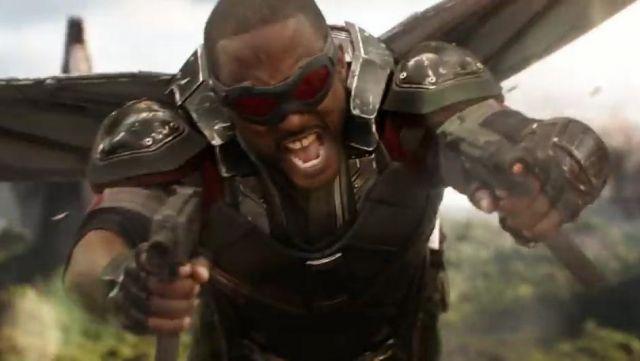 Falcon originalmente iba a acompañar a Iron Man al espacio en Avengers: Infinity War