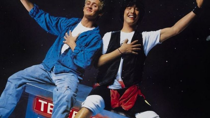 Keanu Reeves y Alex Winter hablan sobre Bill y Ted 3