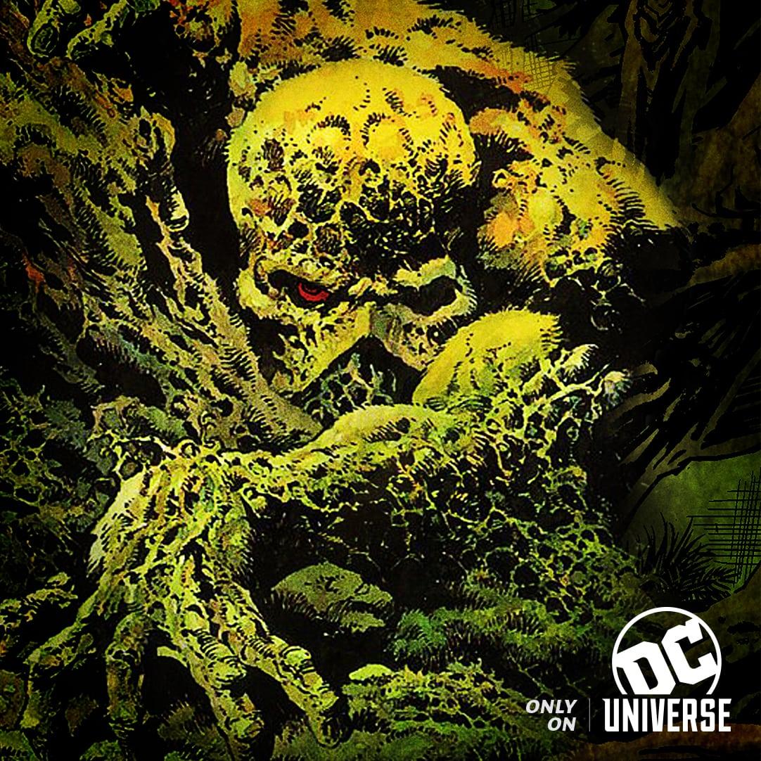 La serie de televisión Swamp Thing de DC Universe usará un disfraz físico, con el objetivo de 'calificación R dura' con violencia gráfica