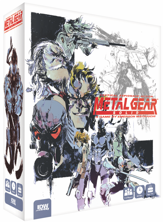Metal Gear Solid para colarse en la mesa en 2019