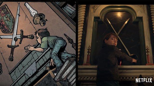 Netflix lanza Locke & Key de Comic a Screen Featurette