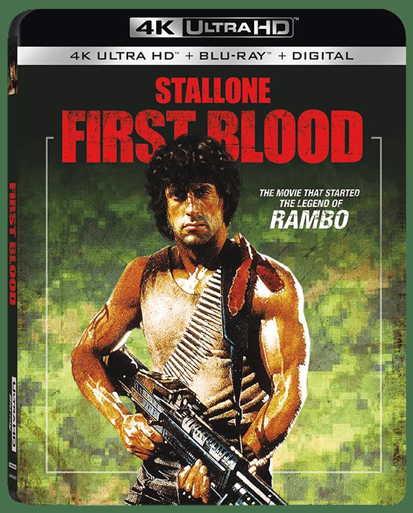 Rambo llegará a 4K Ultra HD con First Blood, Rambo: First Blood Part II y Rambo III