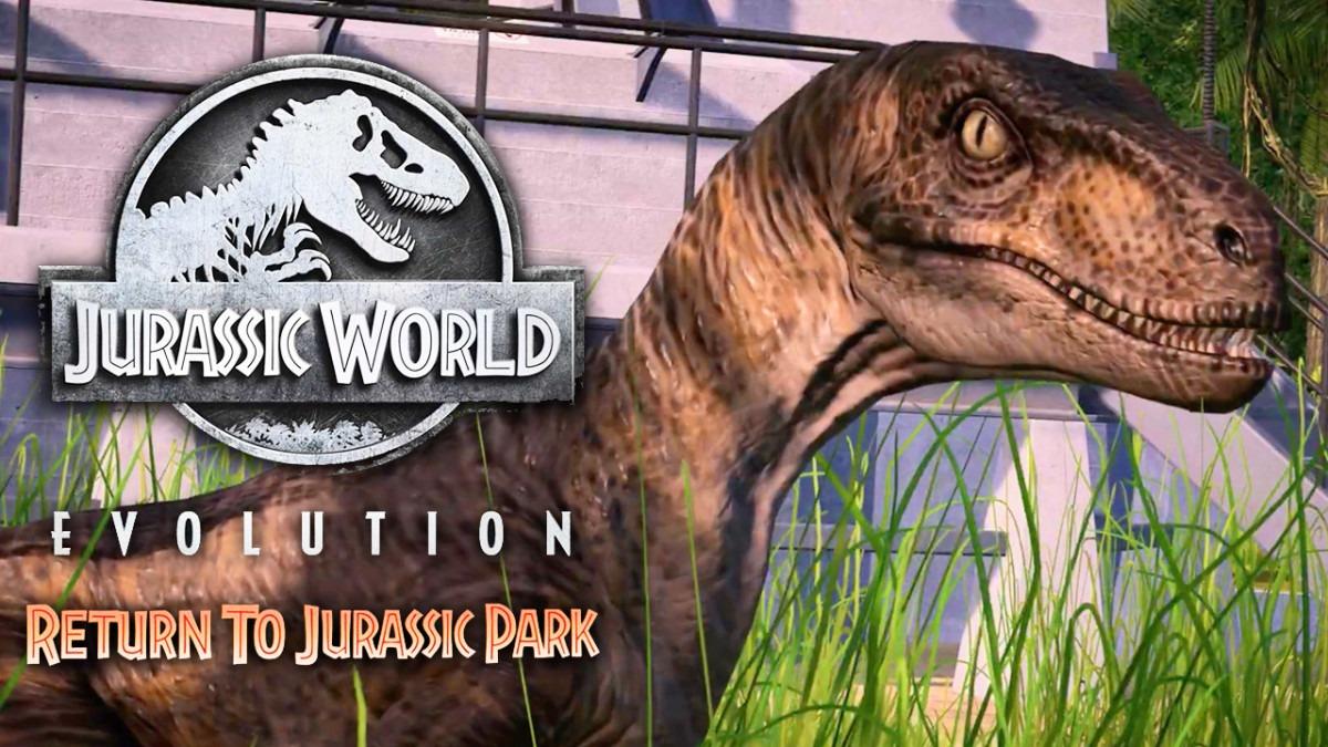 Regrese a Jurassic Park este diciembre con un nuevo DLC para Jurassic World Evolution