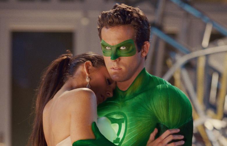 Ryan Reynolds dice que nunca ha visto la versión final de Green Lantern