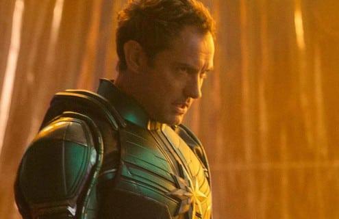 SPOILERS: el personaje de Captain Marvel de Jude Law aparentemente revelado