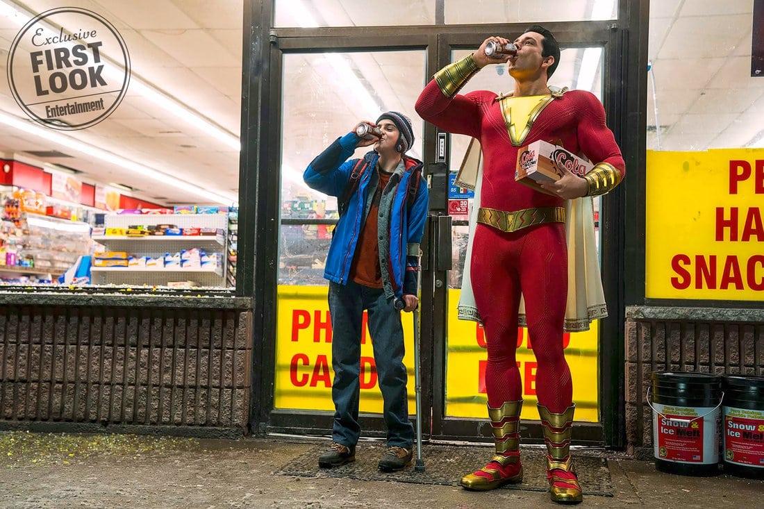 Shazam!  El trailer aparentemente confirmado para Comic-Con, Dwayne Johnson reitera que Black Adam no aparecerá