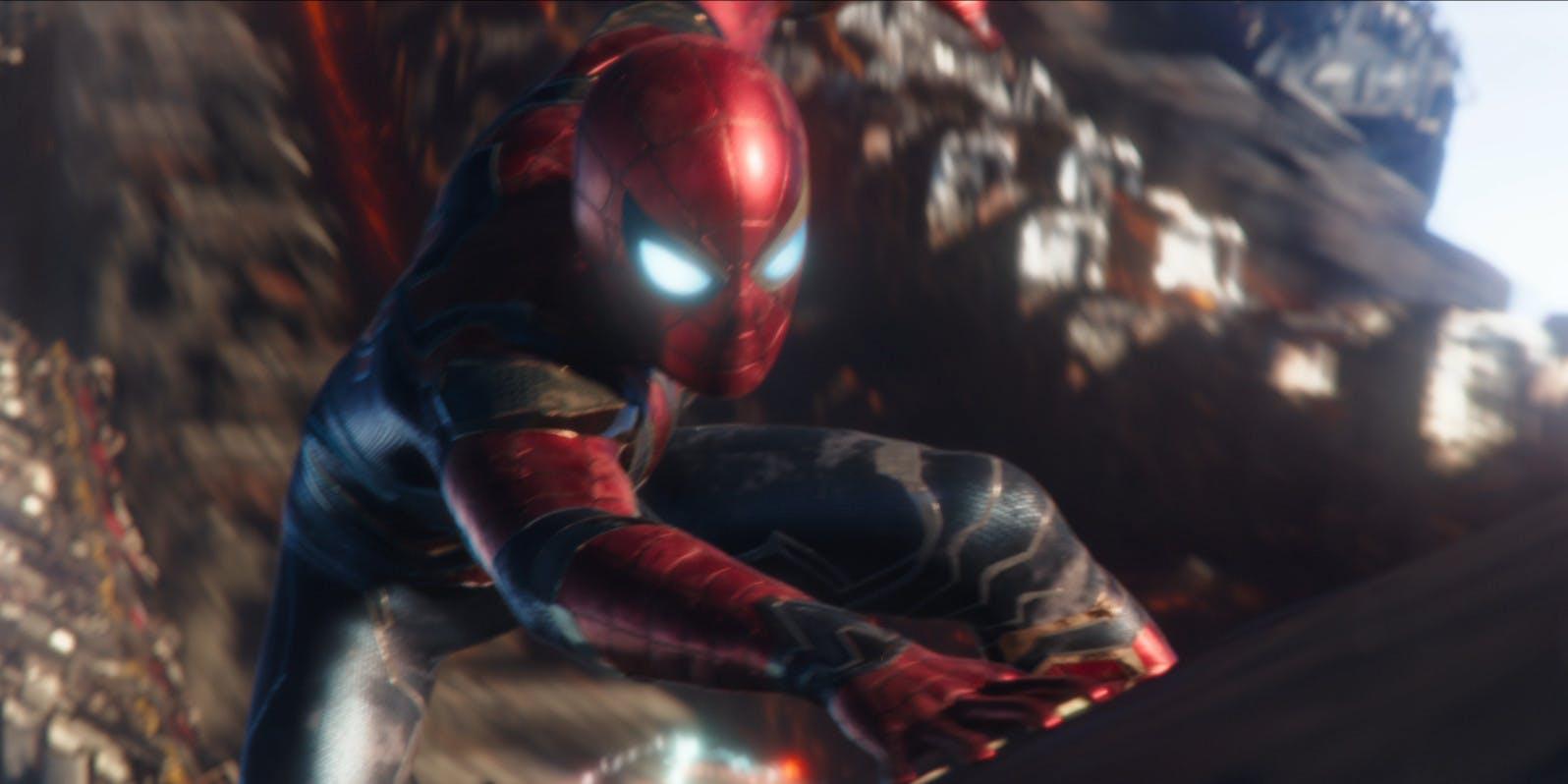 Spider-Man lucha contra Thanos en el nuevo spot de Avengers: Infinity War