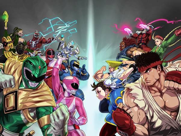 Street Fighter invade Power Rangers: Legacy Wars para un evento cruzado