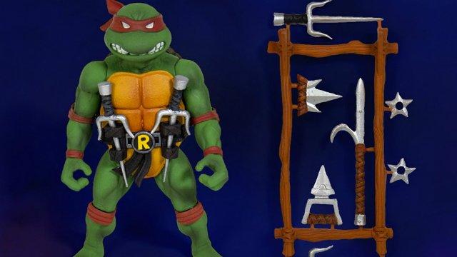 Super7 presenta las tortugas ninja mutantes adolescentes Ultimate 7-Inch Figures