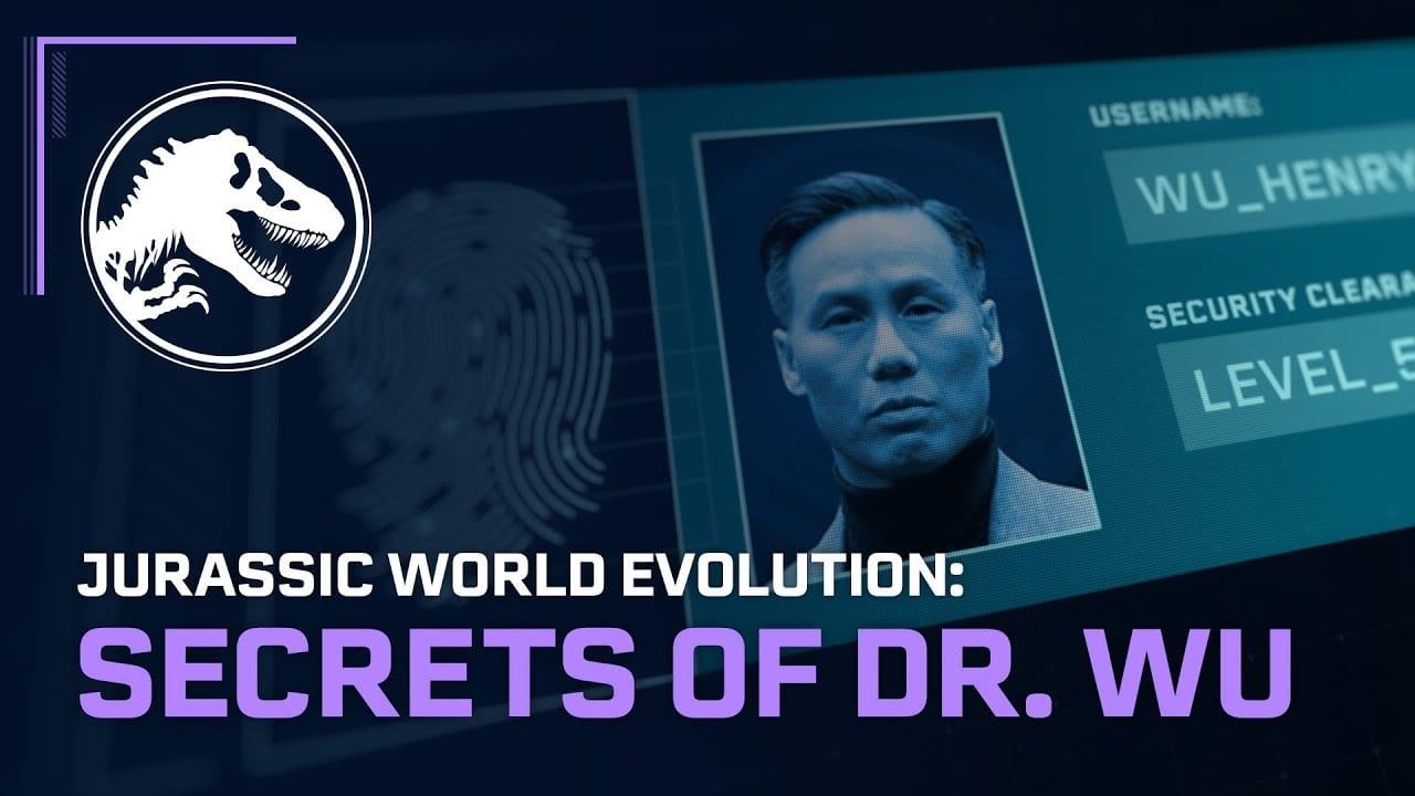 The Secrets of Dr. Wu DLC se lanza hoy en Jurassic World Evolution