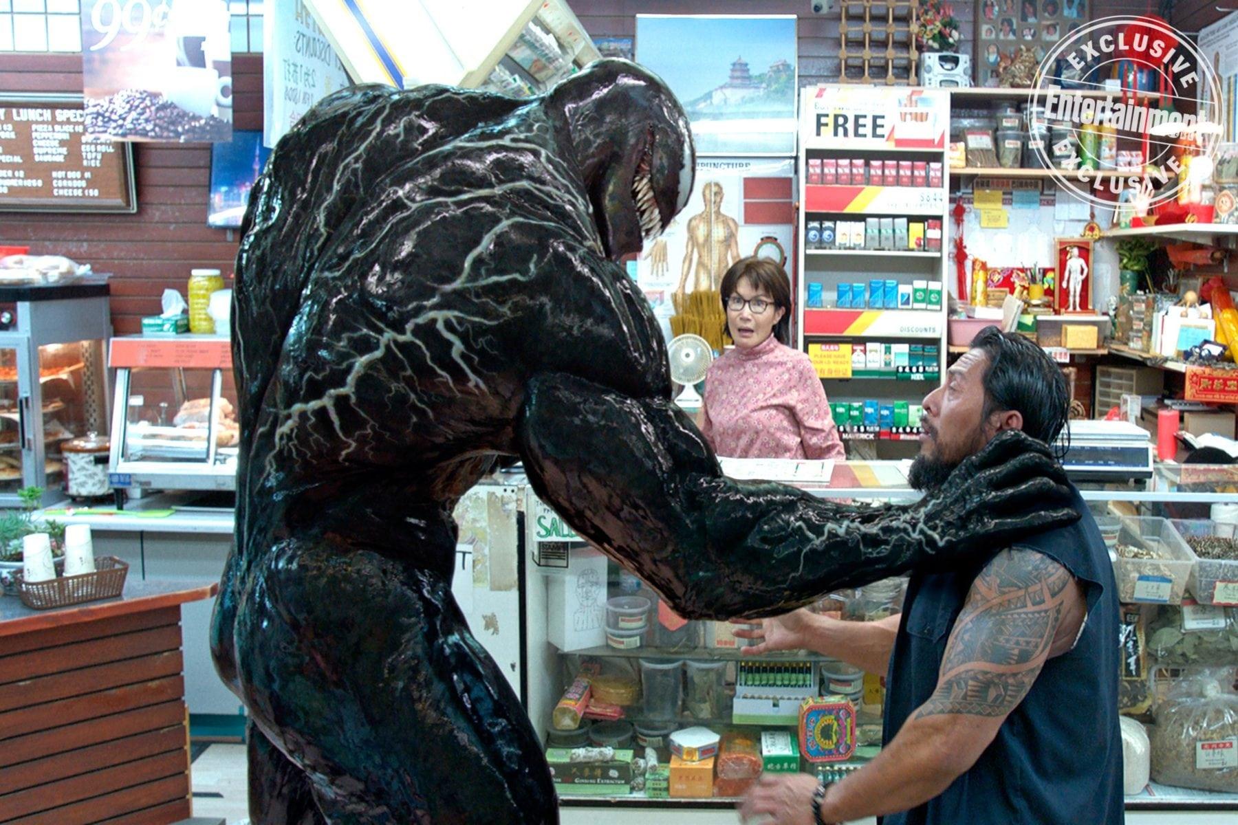 Tom Hardy dice que está contratado para tres películas de Venom, nuevo spot televisivo lanzado