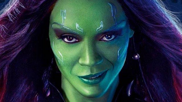 Zoe Saldana quiere explorar el lado oscuro de Gamora en Guardians 3
