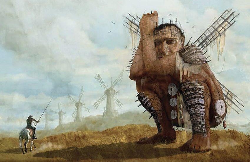 Primera imagen oficial de El hombre que mató a Don Quijote de Terry Gilliam con Adam Driver y Jonathan Pryce