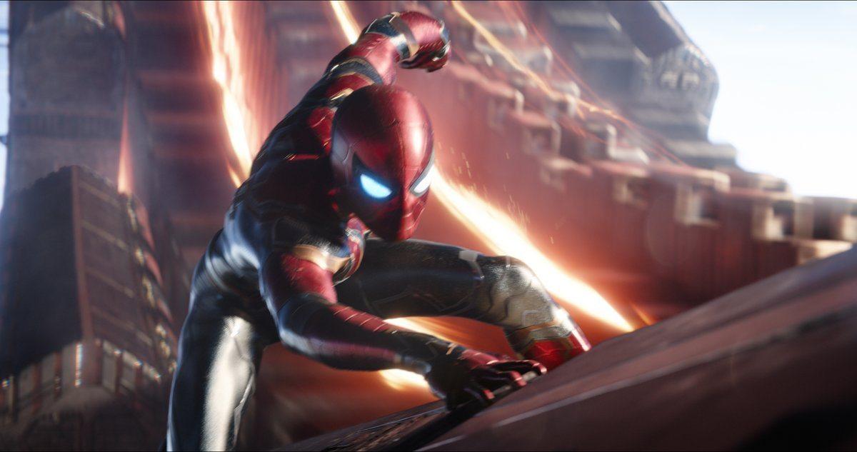 Tom Holland presenta una 'mirada especial' a Marvel's Avengers: Infinity War