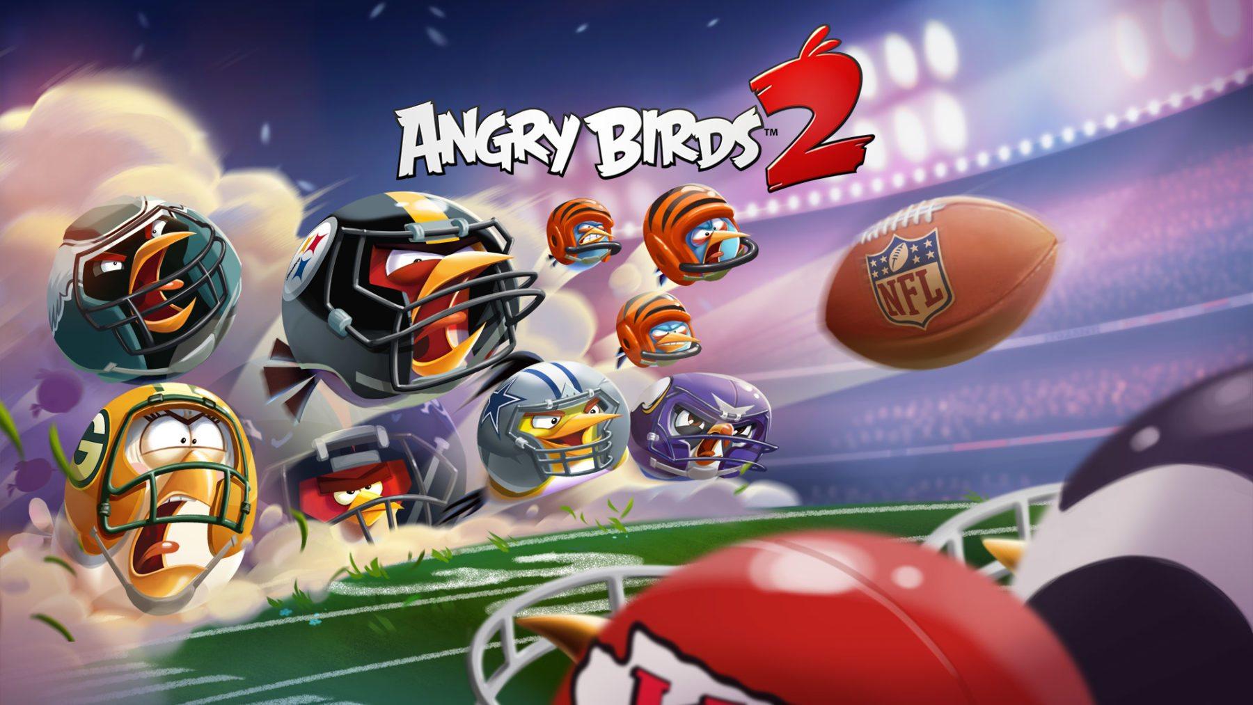 Los eventos del Super Bowl llegan a Angry Birds 2 y Angry Birds Evolution