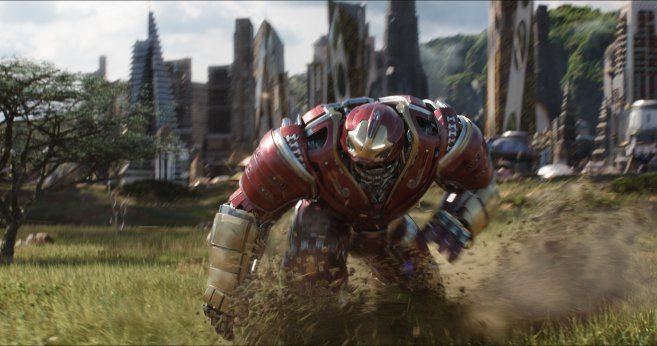 Avengers: Infinity War concept art nos da un buen vistazo al Hulkbuster 2.0