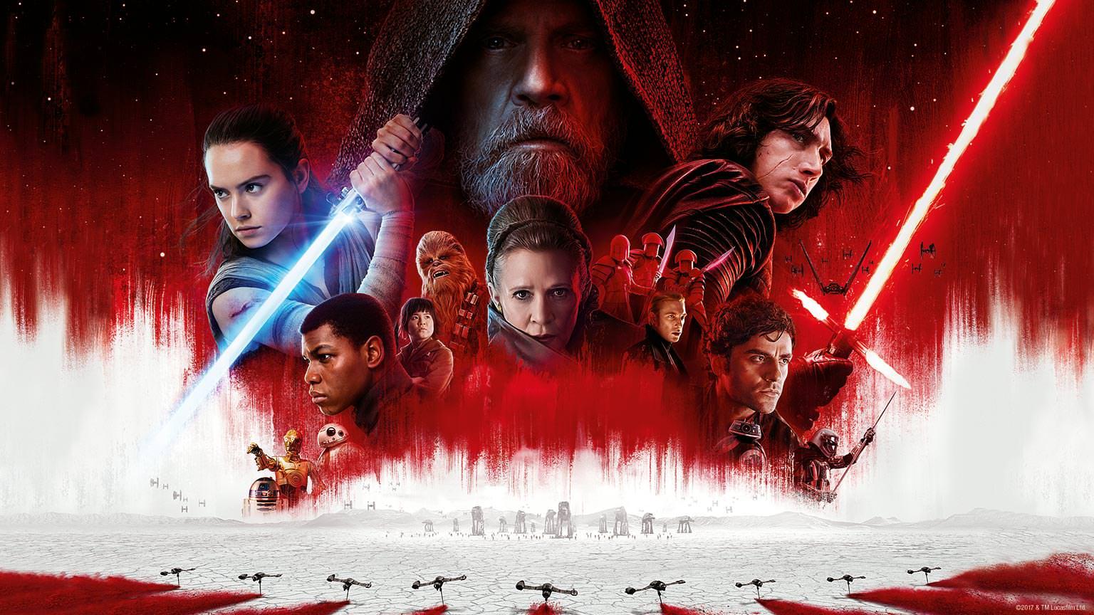Star Wars: The Last Jedi sube a $ 1.2 mil millones en todo el mundo