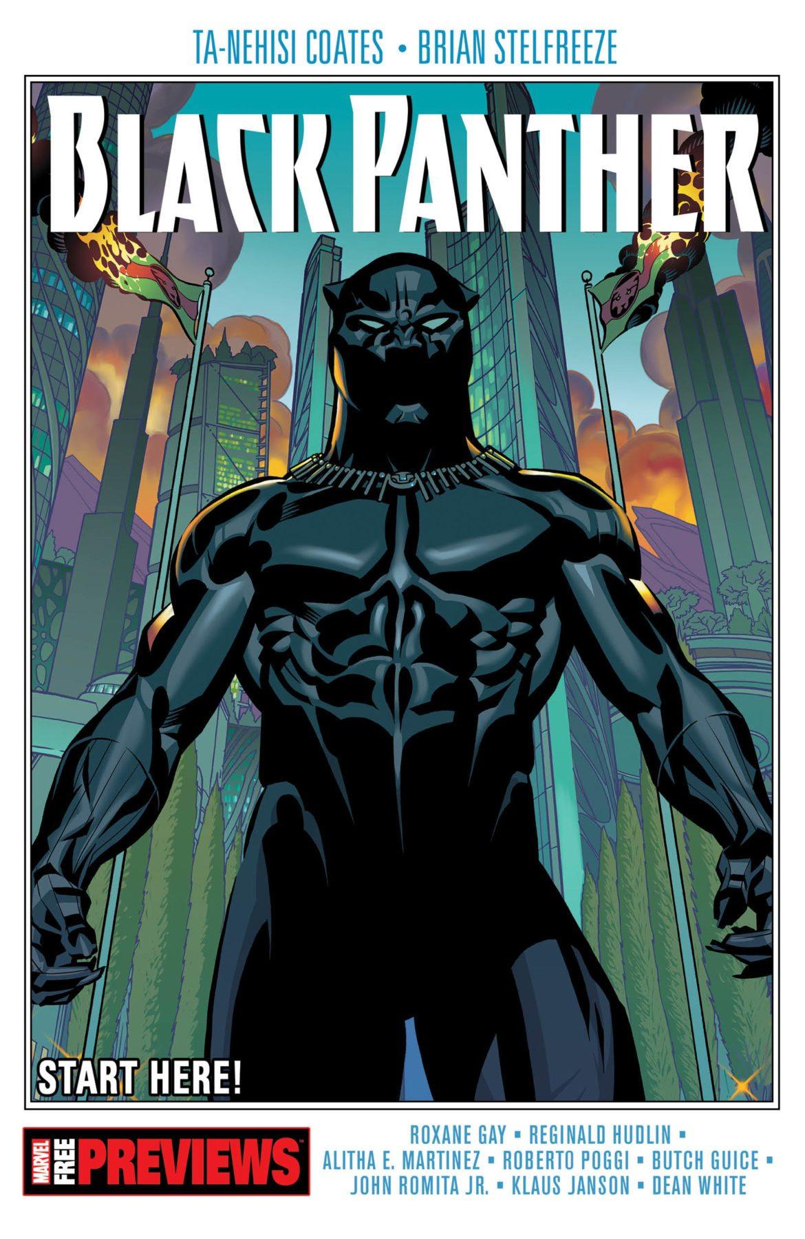 Marvel lanzará una muestra gratuita de cómics de Black Panther