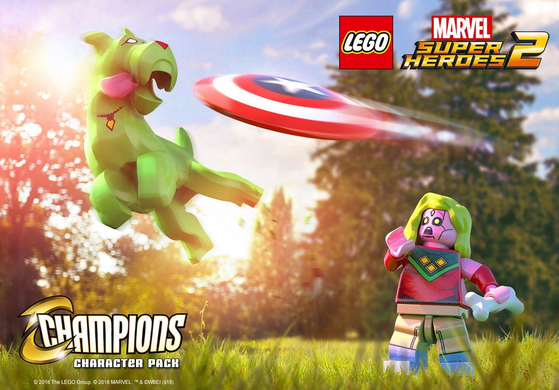 Paquete de personajes de campeones revelado para LEGO Marvel Super Heroes 2