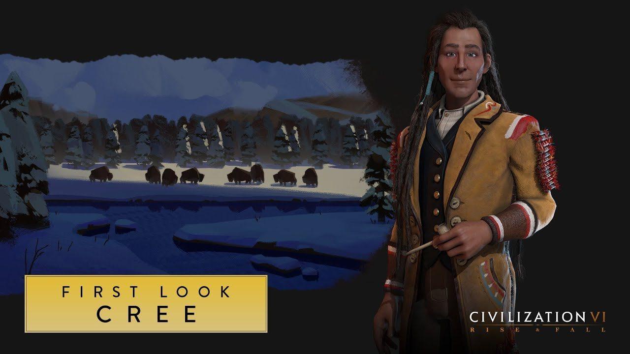 Poundmaker lidera al Cree en la expansión de Sid Meier Civilization VI: Rise and Fall