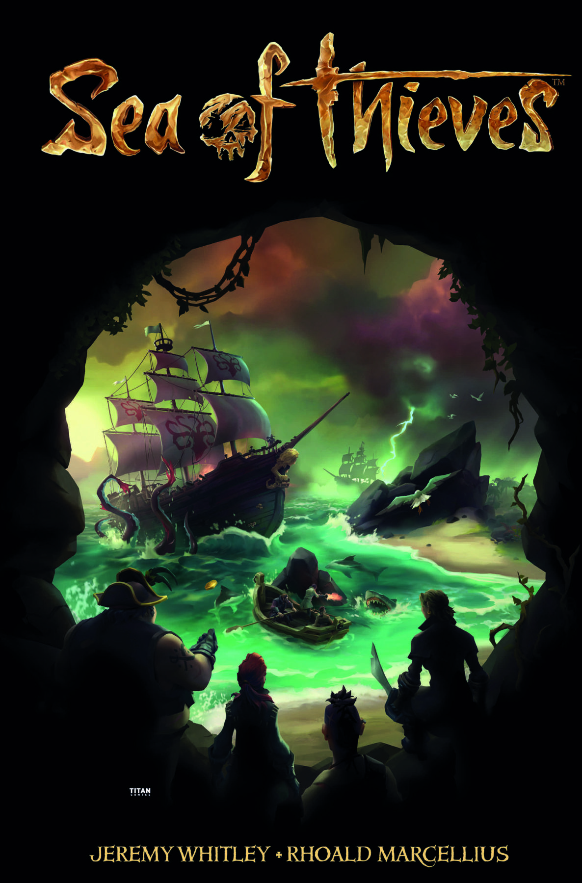 El cómic de Sea of ​​Thieves zarpa por cortesía de Titán