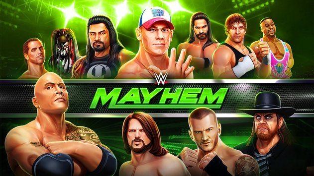 WWE Mayhem disponible ahora gratis en iOS y Android