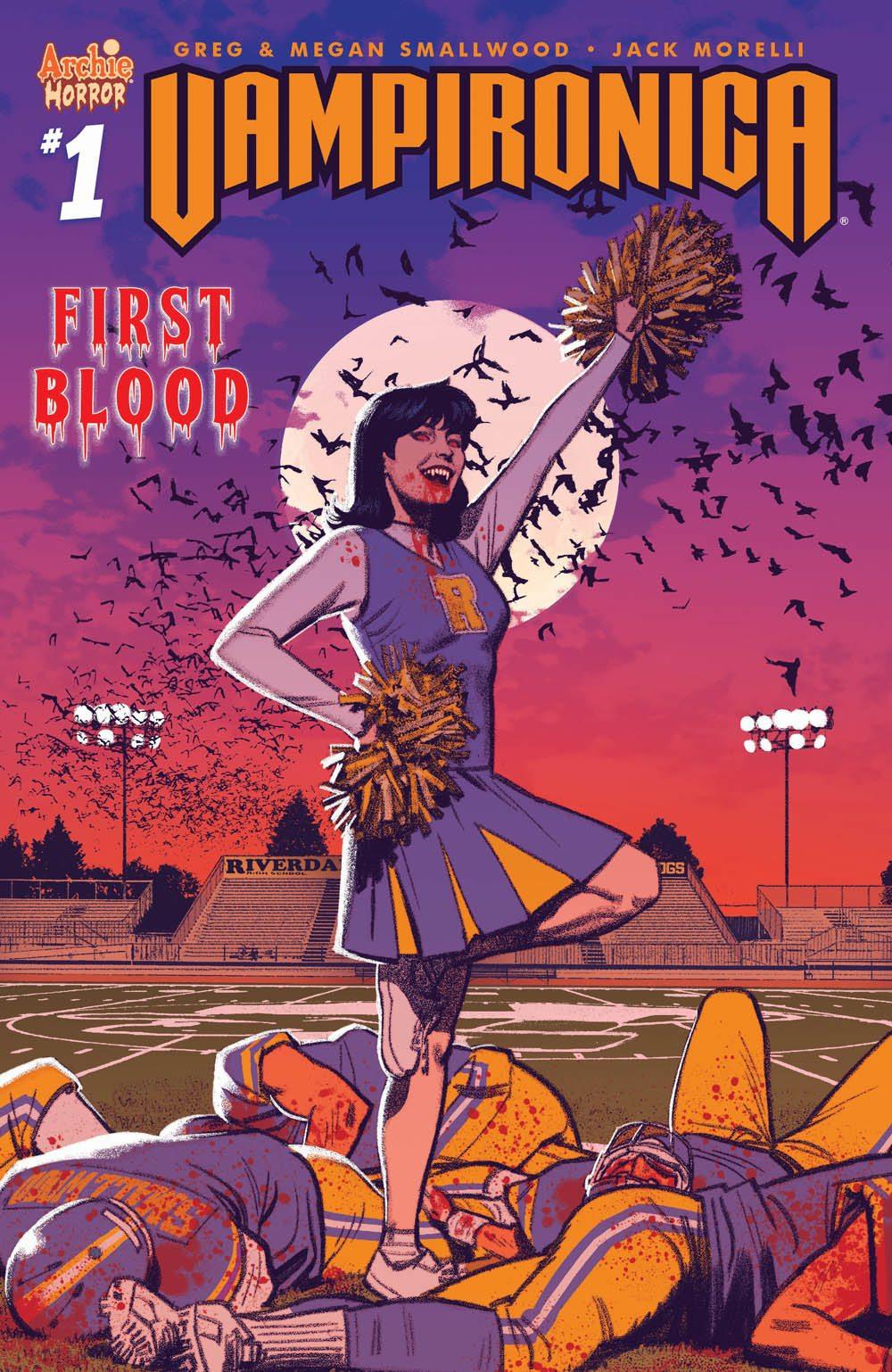 Veronica Lodge está buscando sangre en la nueva serie de terror de Archie Vampironica
