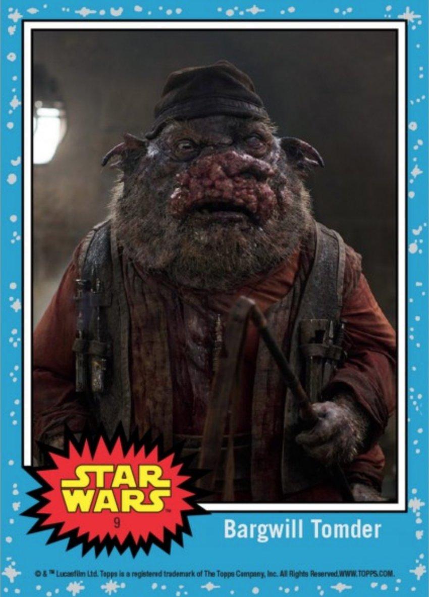 Topps presenta nuevas imágenes promocionales de Star Wars: The Last Jedi