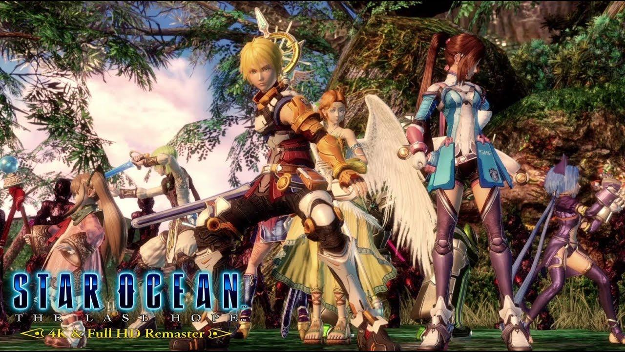 Star Ocean: The Last Hope 4K y Full HD Remaster ya están disponibles para PS4 y PC