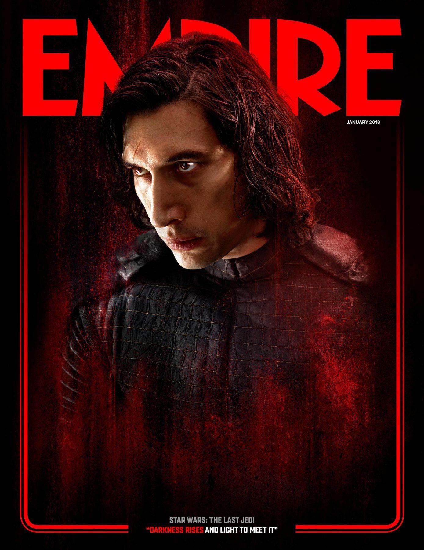 Rey y Kylo Ren aparecen en las portadas de Star Wars: The Last Jedi Empire