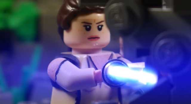 Star Wars: The Last Jedi trailer obtiene un remake de LEGO