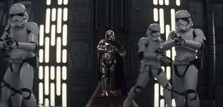 Nuevas imágenes del Capitán Phasma, Chewie y el Porg en el último spot televisivo de Star Wars: The Last Jedi