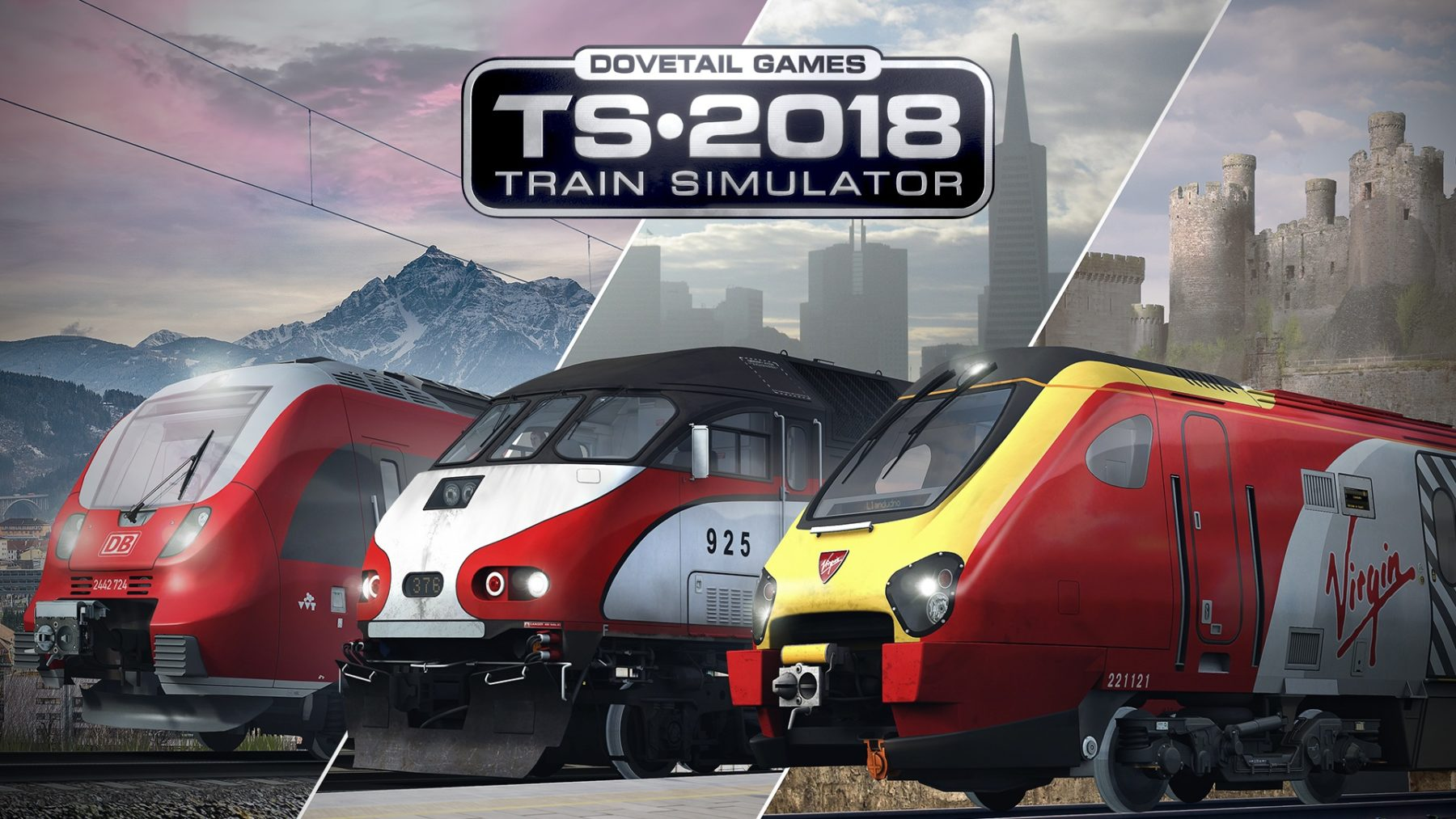 Train Simulator 2018 llega a Steam
