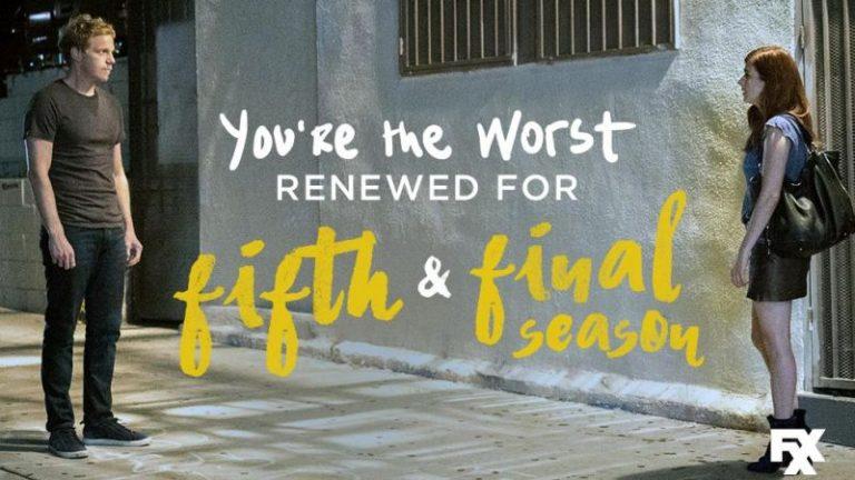 Eres el peor de FXX renovado para la quinta y última temporada