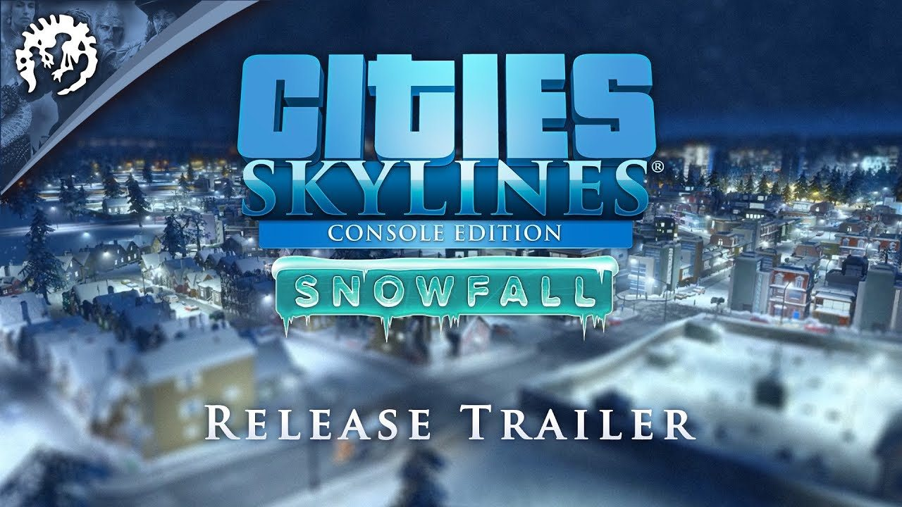 El invierno llega a Cities Skylines Console Edition