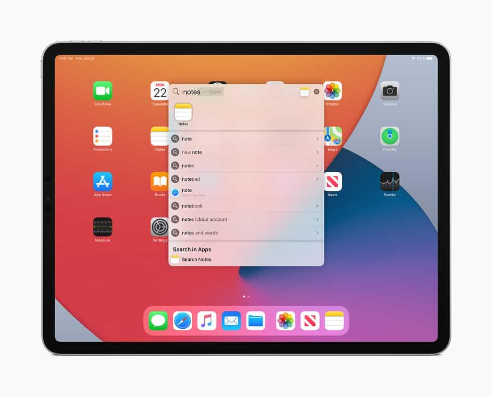 Noticias sobre iPadOS 14 en WWDC 2020