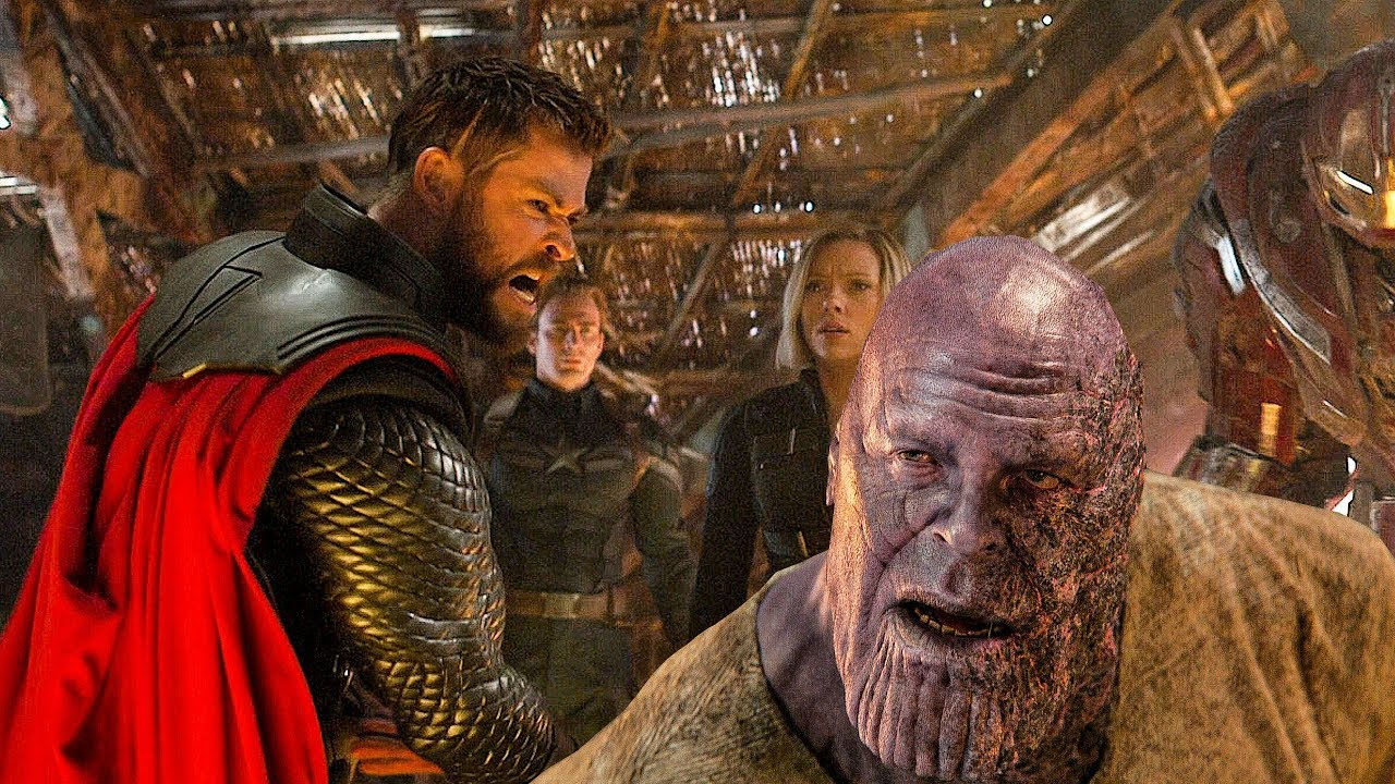 Thor mata la escena de Thanos - AVENGERS 4 ENDGAME (2019) Movie CLIP HD ...