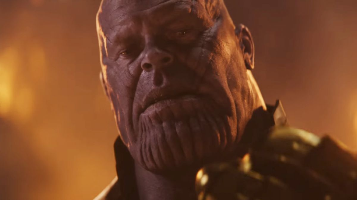 Avengers 4 wrap cake presenta Thanos y las Piedras Infinitas
