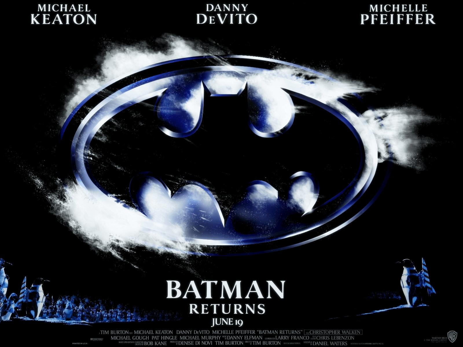 Batman Returns de Tim Burton fue originalmente muy diferente